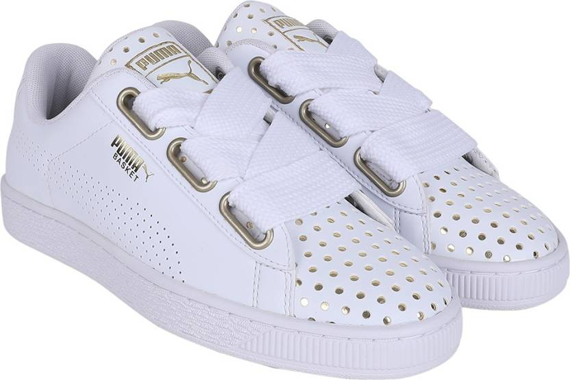 buy popular 1467f bc4a8 Puma Basket Heart Ath Lux Wn's Sneakers For Women - Buy Puma ...