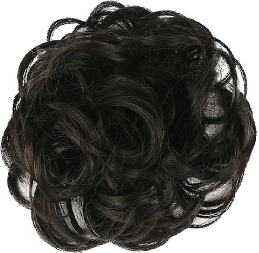 Wonder Choice Women Curly Hair Bride Bun Maker Juda Free Size Bun