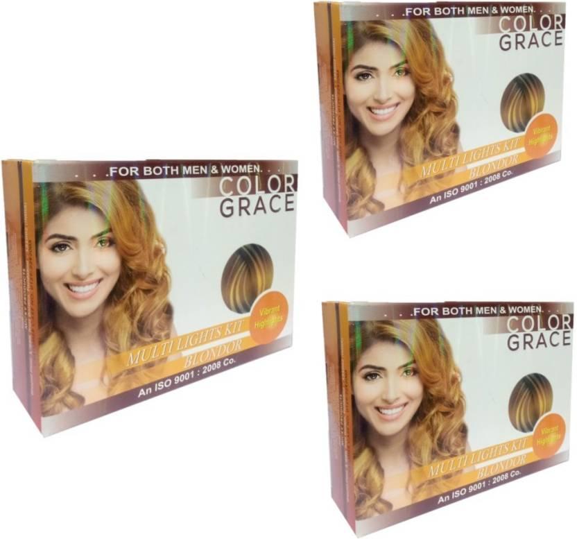 Colorgrace Multi Lights Blondor Kit Vibrant Highlights Pack Of 3