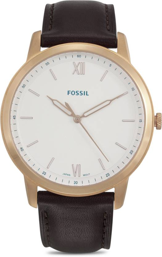 Fossil Fs5463 The Minimalist 3h Watch For Men Buy Fossil Fs5463
