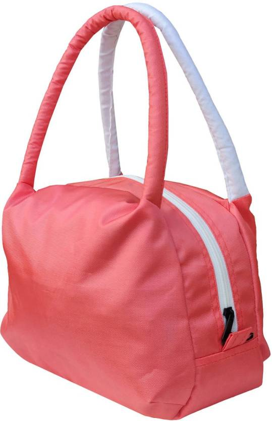 Foonty Daily Utility Waterproof Lunch Bag Pink, 3 L