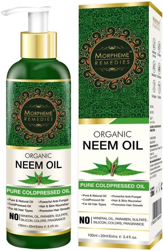 Morpheme Remedies Pure Organic Neem Oil (ColdPressed & Undiluted) Hair Oil