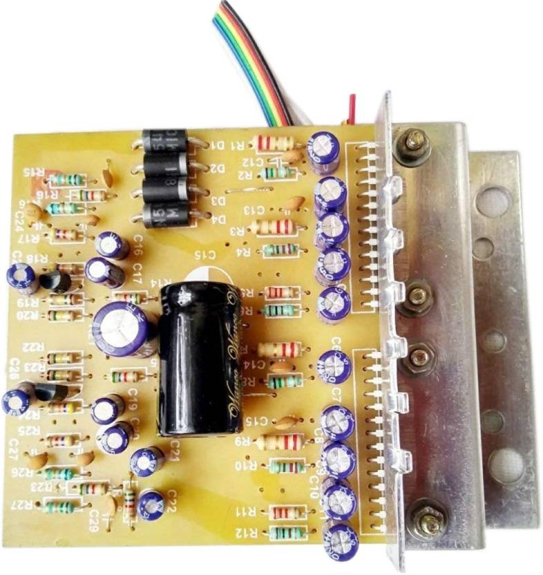 Rashri Electricals 4440 IC 12V Amplifier Board Kit with 7805 IC
