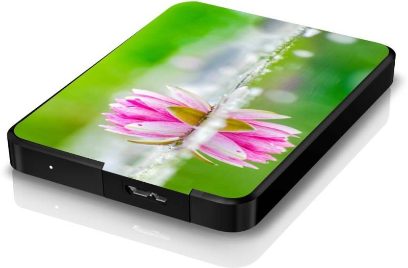 Artmagik Lotus Flower Hdd509 Hard Disk Skin Price In India Buy