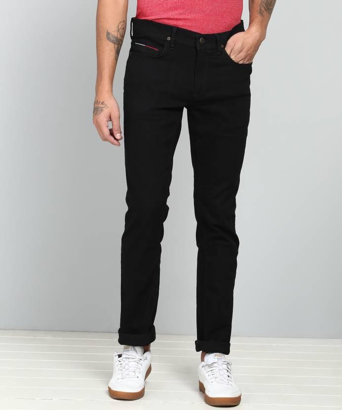 0d1465e89 Tommy Hilfiger Slim Men Black Jeans - Buy Tommy Hilfiger Slim Men Black Jeans  Online at Best Prices in India | Flipkart.com