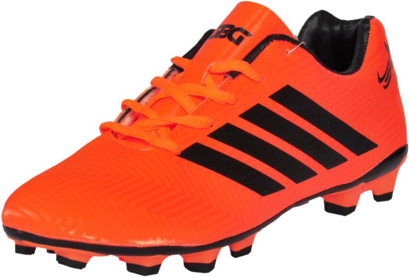 540d3641226 GBG GBG Mens Messi Synthetic Leather Football Studs Shoes -9686-Orange-6  Football Shoes For Men (Orange)