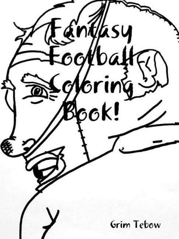 Fantasy Football Coloring Book!: Buy Fantasy Football Coloring Book ...