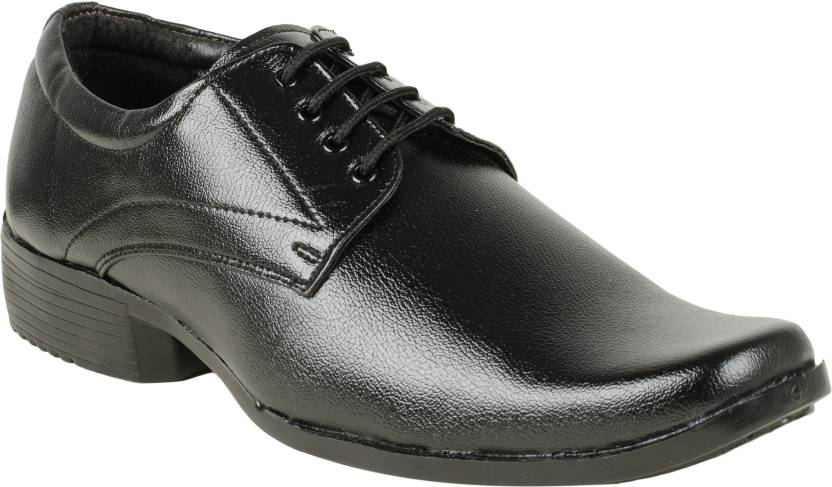 abc034b7a0c08 VANNEF Synthetic Leather Casual Partywear Wedding Office Use Formal Shoes  For Mens And Boys Boots For Men (Black)