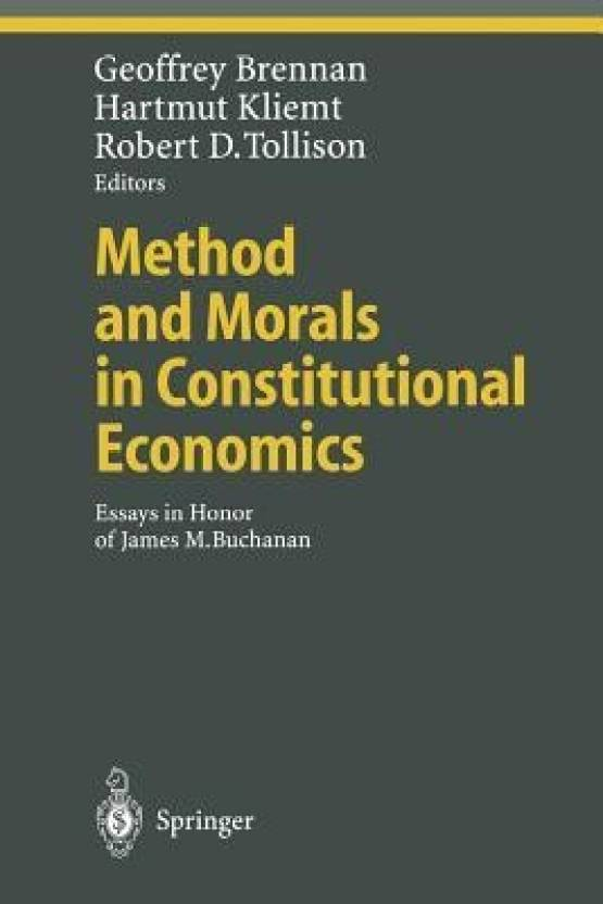 method and morals in constitutional economics buy method and morals