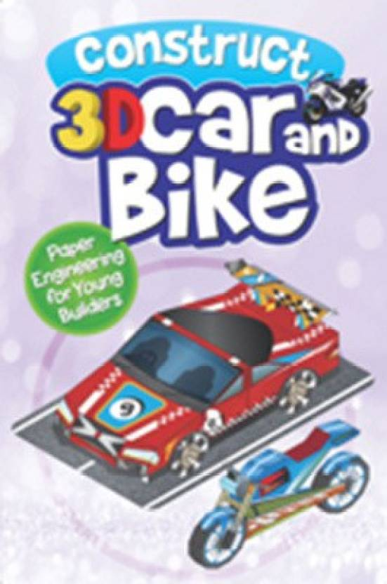 CONSTRUCT -3D CAR AND BIKE: Buy CONSTRUCT -3D CAR AND BIKE by