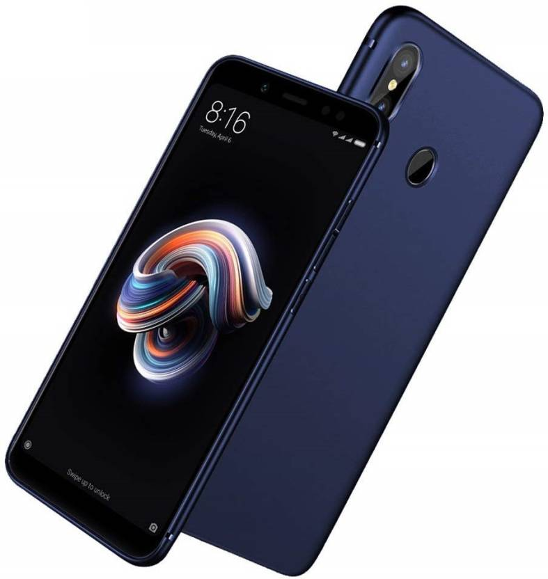 f575602039faf1 EPAQT Back Cover for Xiaomi Mi A2 (4 Cut) All Sides Protection Sleek Ipaky Hard  Case (BLUE