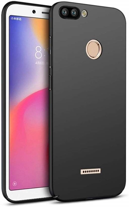 EPAQT Back Cover for Xiaomi Redmi 6 (4 Cut) All Sides Protection Sleek Ipaky Hard Case (BLACK, Hard Case, Flexible Case)