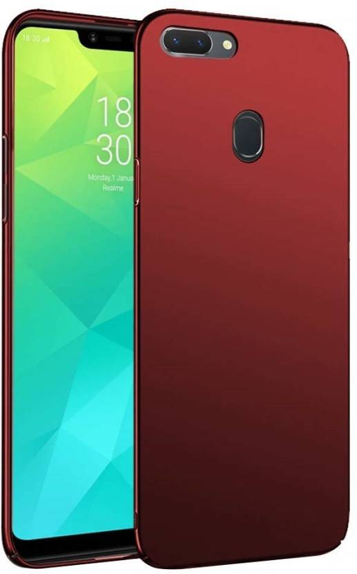 91495394f00 EPAQT Back Cover for Realme 2 Pro (4 Cut) All Sides Protection Sleek Ipaky  Hard Case (RED