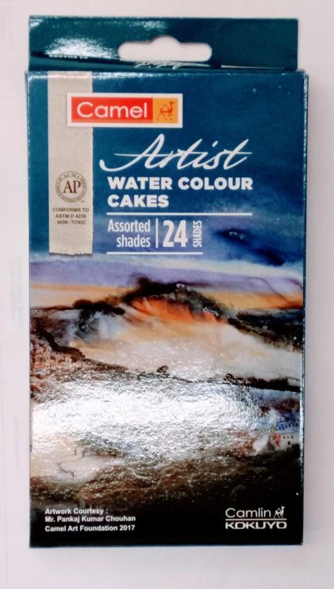 Flipkart Com Camlin Kokuyo Water Colour Cakes 24 Shades Water