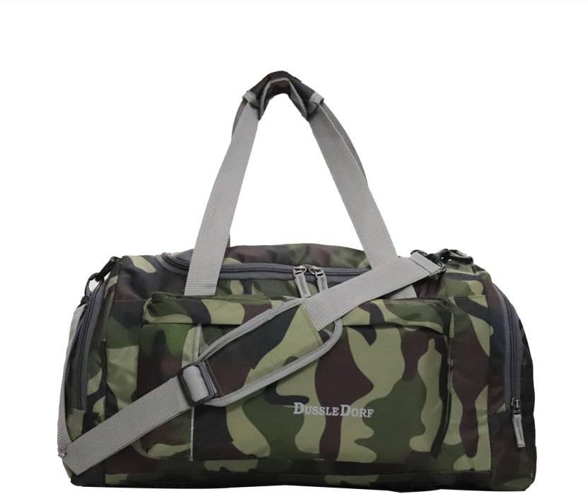 73f20462b0ae Dussledorf Military Green Duffle bag Travel Duffel Bag Military ...