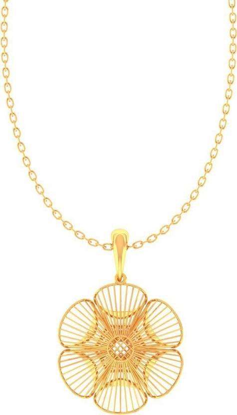 Jeweltale Raya Pure Gold 22kt Jewellery Pendant By Jeweltale 22kt