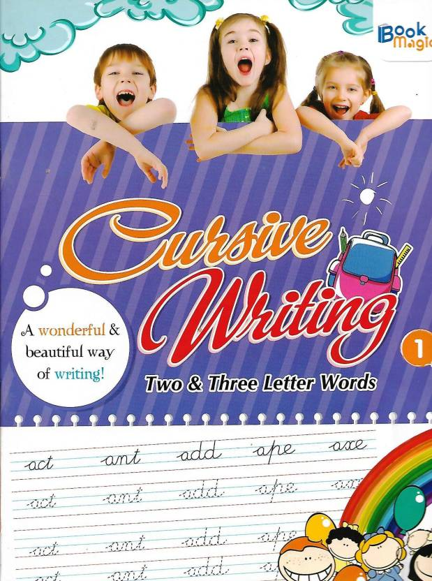BOOK MAGIC CURSIVE WRITING (TWO & THREE LETTER WORDS) CLASS 1 (ENGLISH, Paperback, PENNEL OF AUTHOR)