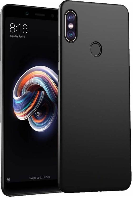Annant Enterprises Back Cover for Xiaomi Redmi Note 5 Pro (4 Cut) All Sides Protection Sleek Ipaky Hard Case (Black, Hard Case, Flexible Case)