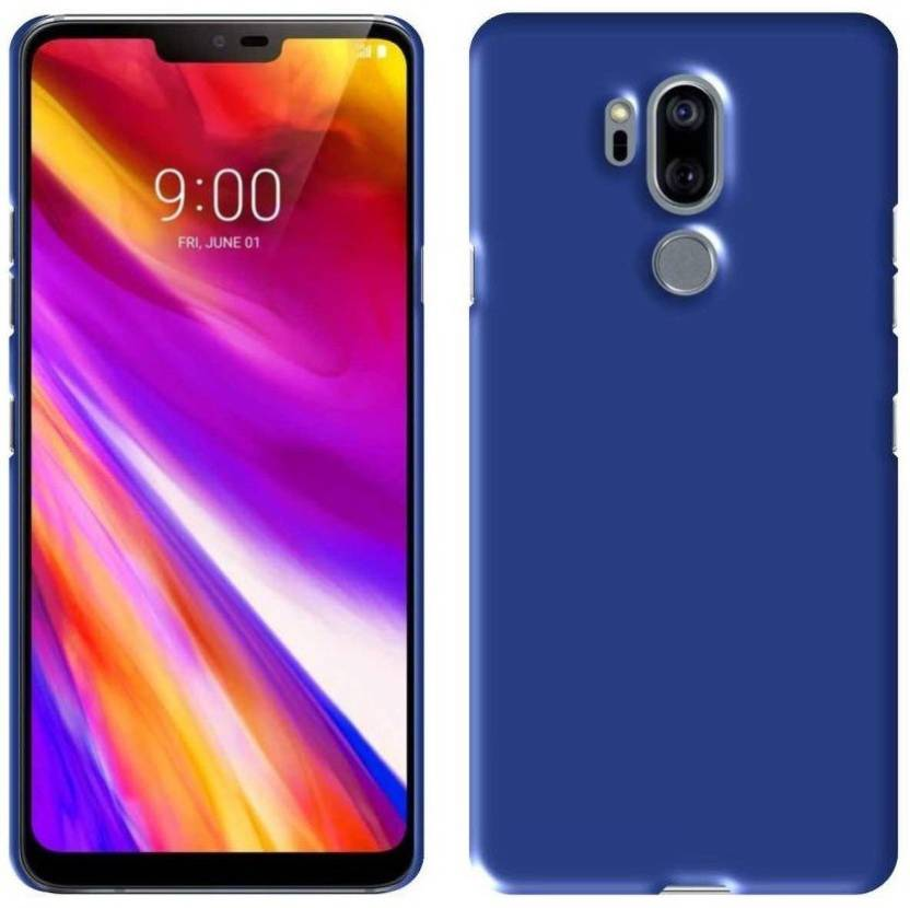 10fd6141786850 Annant Enterprises Back Cover for LG Q7 (4 Cut) All Sides Protection Sleek  Ipaky Hard Case (Blue