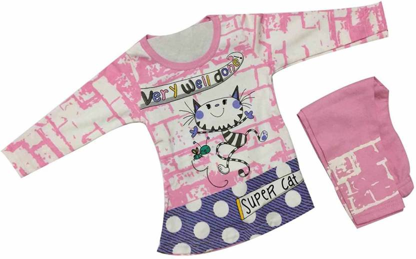 b3bba4965 Cute Collection Girls Party(Festive) Top Pyjama Price in India - Buy ...