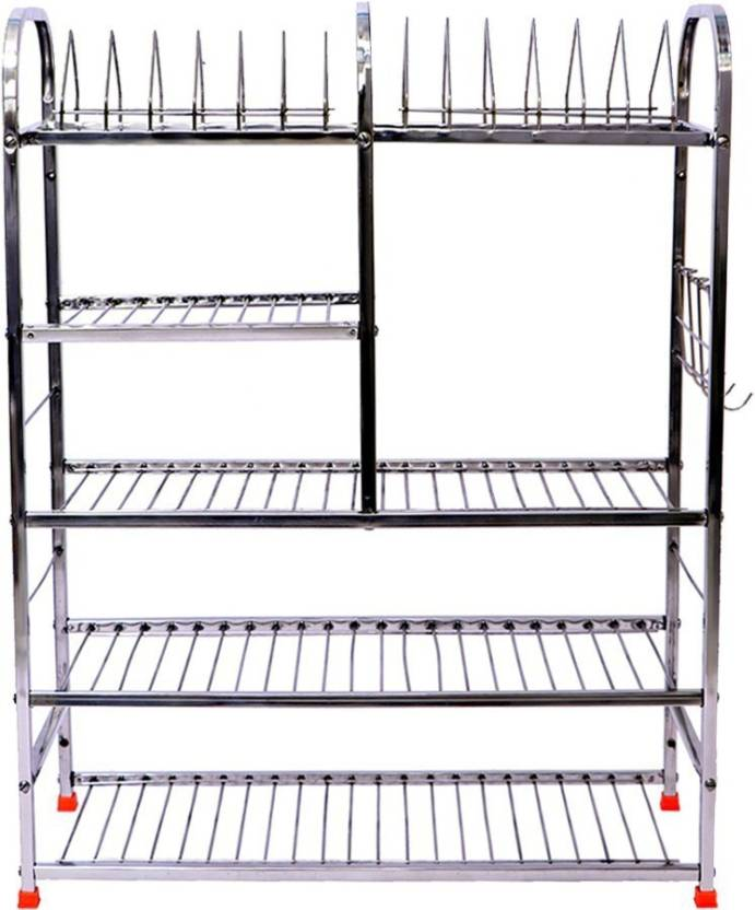 Extenso 31x30 Inch Wall Mount Kitchen Dish Rack Stainless Steel Kitchen Rack