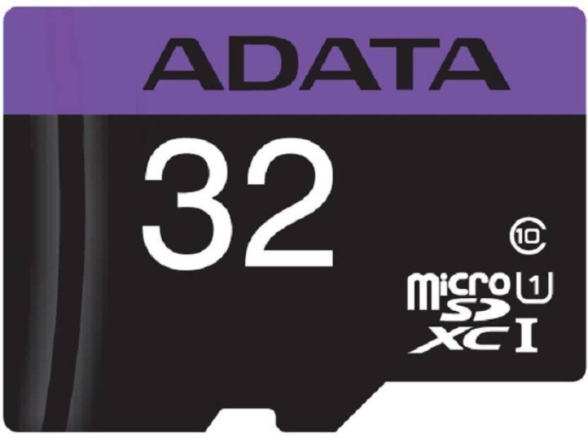 ADATA PREMIER 32 MicroSD Card Class 10 50 Memory Card