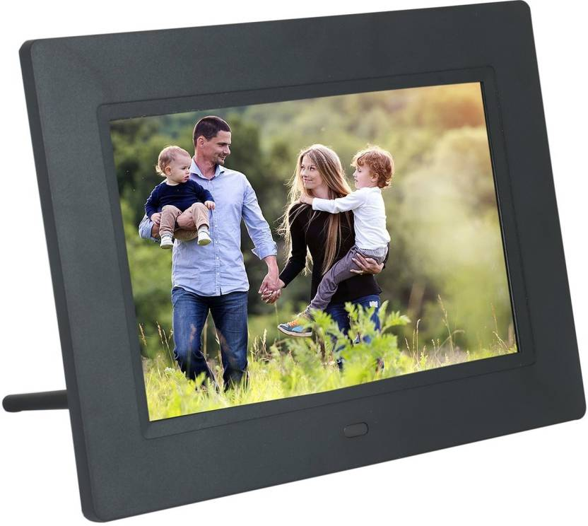 XECH Digital Photo Frame With Functional Remote Plays Photos
