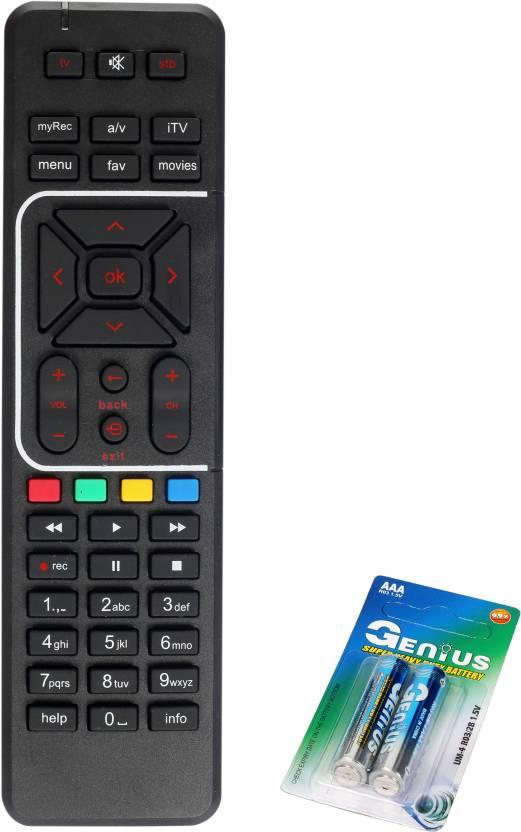 LRMCOMPONENTS remote control remote compatible for airtel