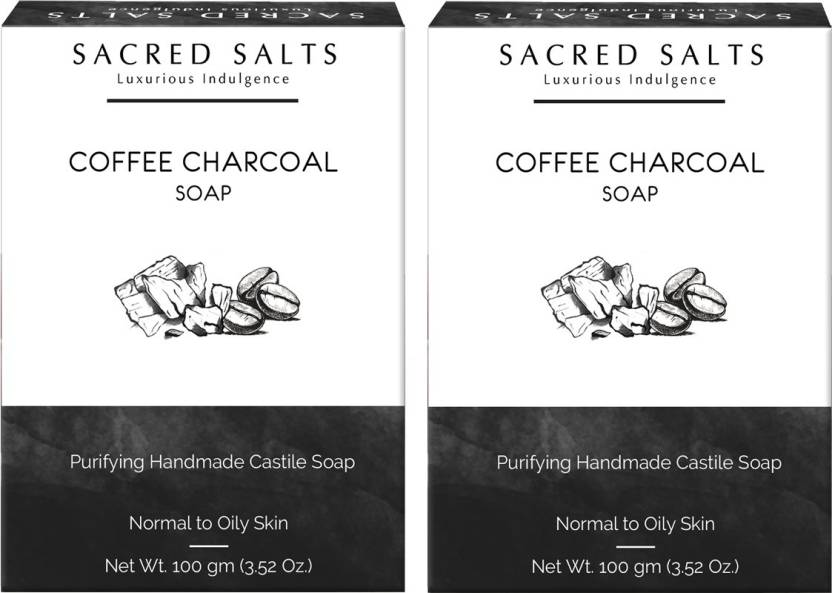 Sacred Salts Coffee Charcoal Gentle Exfoliating Handmade