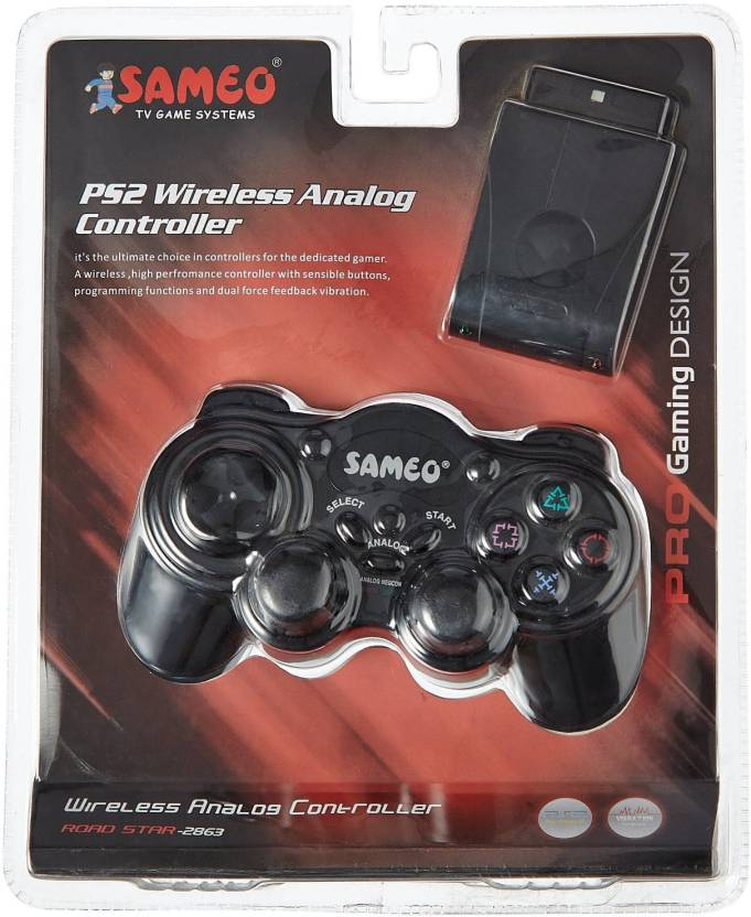 B V G  Sameo Ps2 Wireless Controller Joystick - B V G