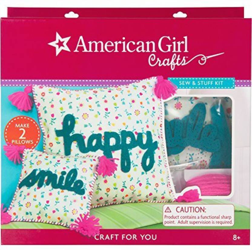 American Girl Crafts Sew And Stuff Diy Pillow Kit 12 W X