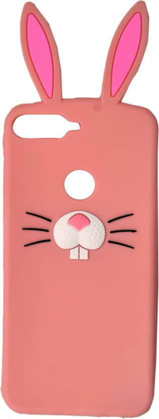 on sale 08b22 96e03 KSF Back Cover for Girls 3D Cartoon Cute Rabbit Silicone Mobile Back ...