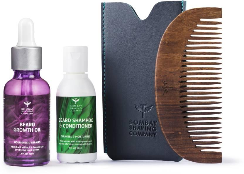 Bombay Shaving Company Beard Growth Oil 30ml & 20ml Wash