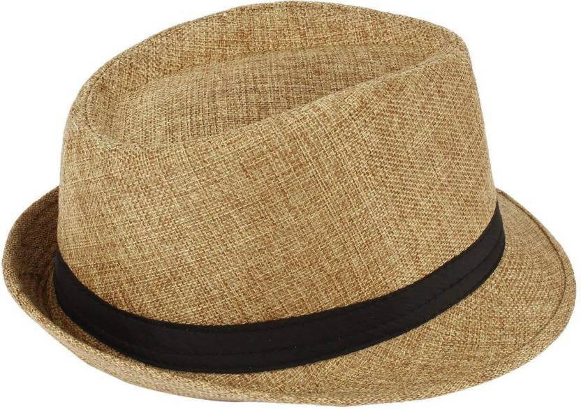 aed06354995 PELO Stylish Home and Travel Use Cowboy Hats for Men and Boys (Beige, Pack  of 1)