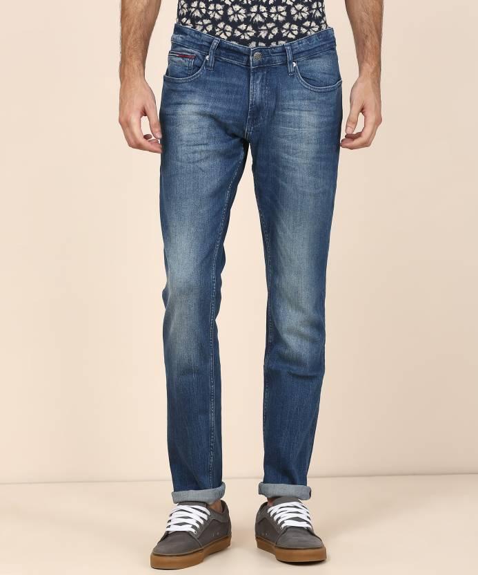 37a3d363e Tommy Hilfiger Slim Men Blue Jeans - Buy Tommy Hilfiger Slim Men Blue Jeans  Online at Best Prices in India | Flipkart.com