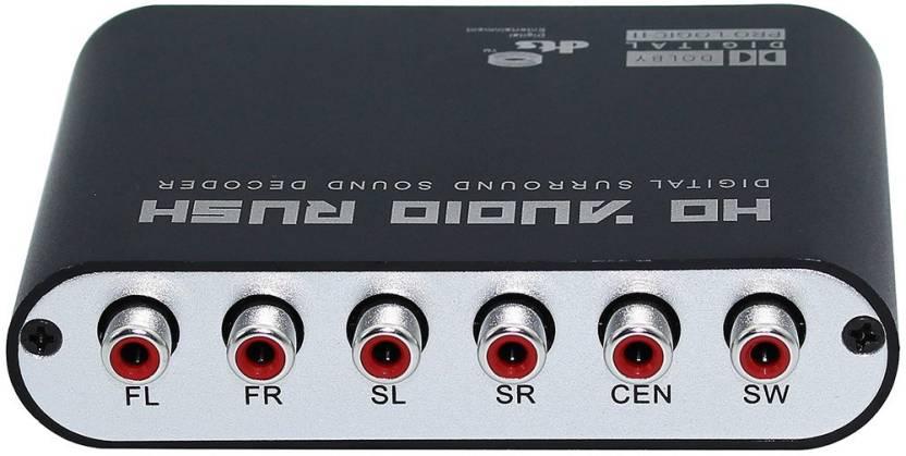 Microware 5 1 HD Audio Rush Digital Sound Decoder Converter