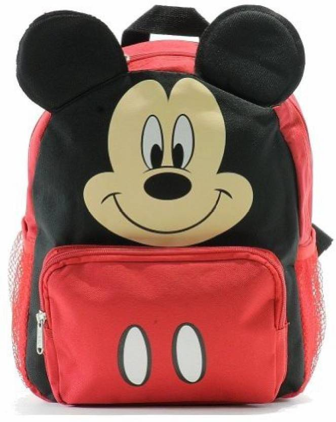 655af228ee Disney Mickey Mouse Face - 12 Inches - BRAND NEW Waterproof Multipurpose Bag  (Red