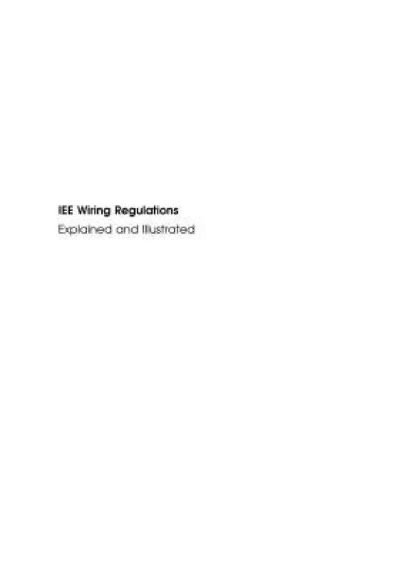 Stupendous Iee Wiring Regulations Buy Iee Wiring Regulations By Scaddan Brian Wiring Database Wedabyuccorg