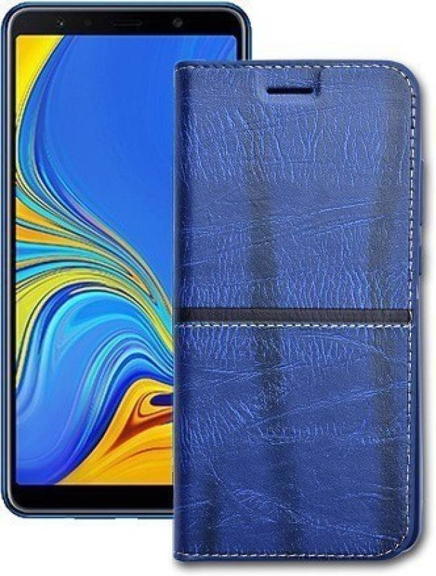 brand new 29bb5 bf182 Marshland Flip Cover for Samsung Galaxy A7 2018