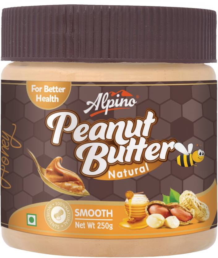 Alpino Natural Honey Peanut Butter Smooth 250g 250 g