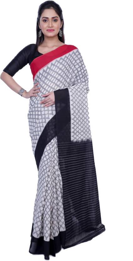 047414817b Buy Rene Woven Handloom Cotton White Sarees Online @ Best Price In ...
