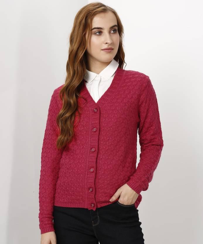 5442ca6440 Park Avenue Women Button Cardigan Price in India - Buy Park Avenue Women  Button Cardigan online at Flipkart.com