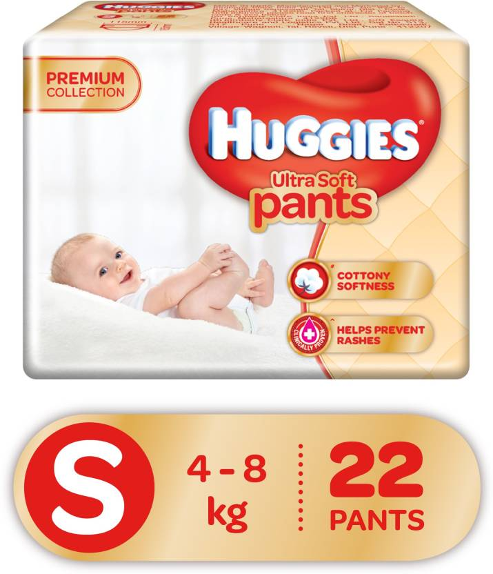 134f036be08 Huggies Ultra Soft Small Size Premium Diapers - S - Buy 22 Huggies ...