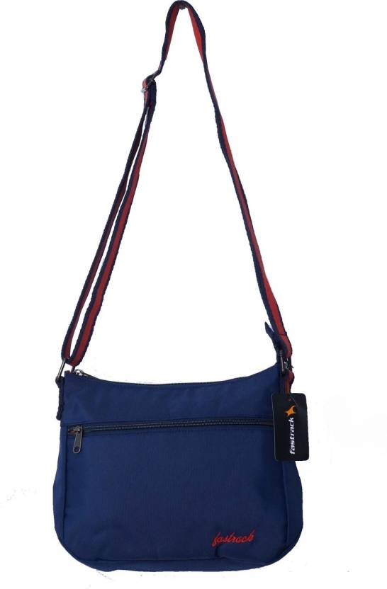 Fastrack Women Casual Blue Polyester Sling Bag Red 43480ce3f4277