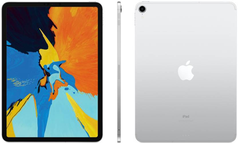 Apple iPad Pro (2018) 1 TB 11 inch with Wi-Fi+4G (Silver)