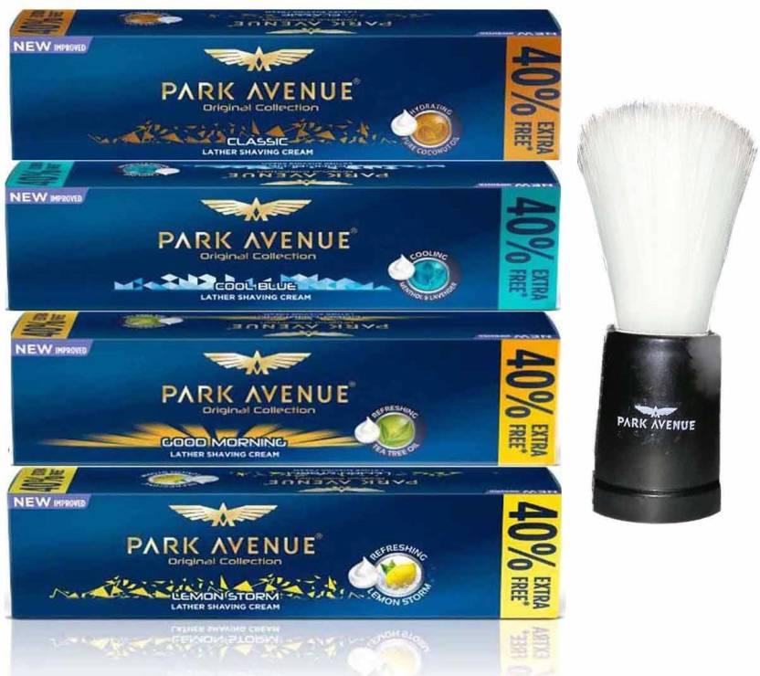 167ad33d6a1b Park Avenue Shaving Cream Classic + Cool Blue + Good Morning + Lemon Storm Original  Collection