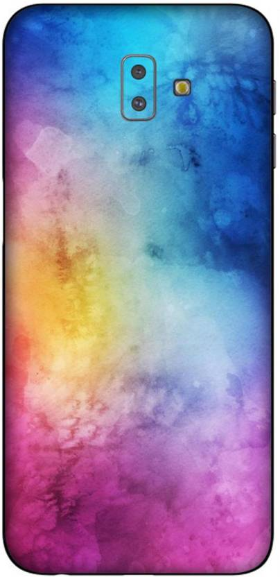 Crystal Coat Galaxy J6 Plus Edition Water Color Wallpapers Skin For