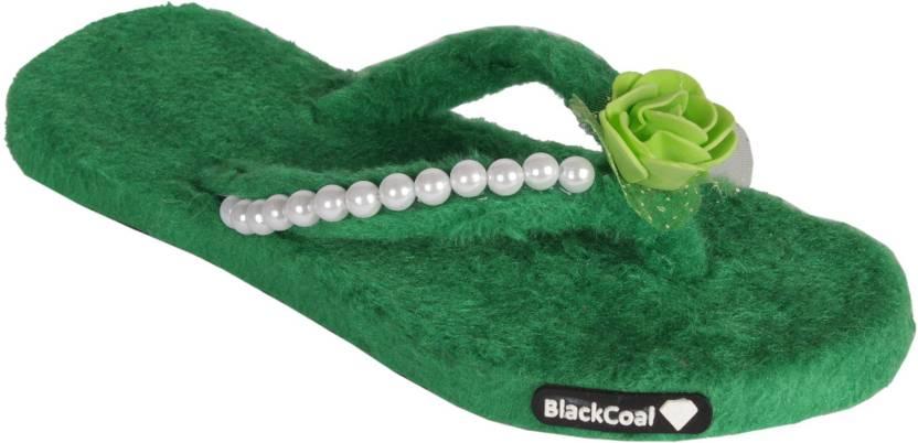 BlackCoal Women Bedroom Slippers Girls Flip Flops Slippers ...