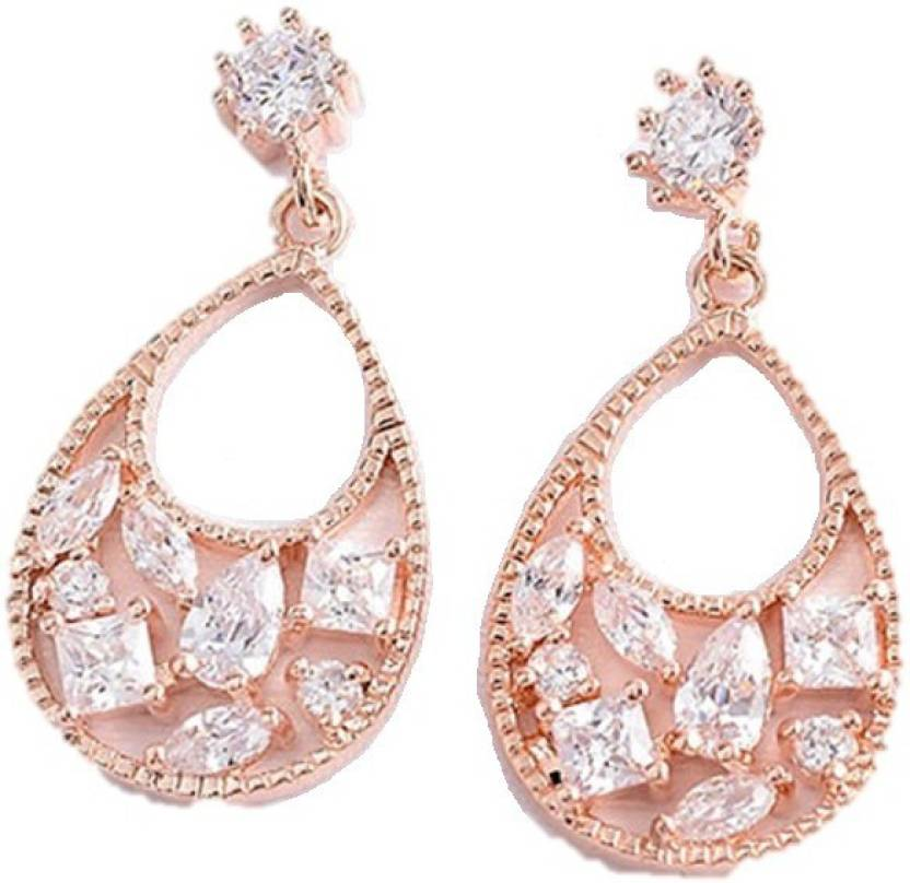 862e23d18424a Flipkart.com - Buy Oomphelicious Jewellery 18K Rose Gold Plated ...