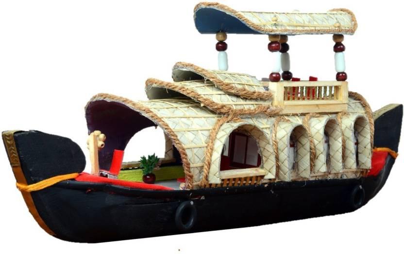 Antardwand India Kerala House Boat Double Deck Ethnic Handicraft